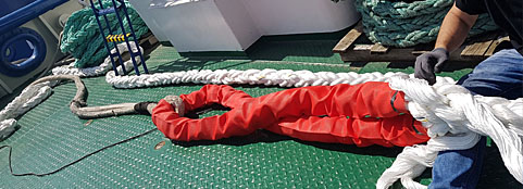 Mooring Rope Splicing